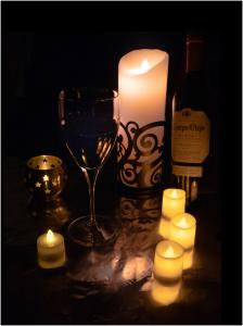 Candlelight and Wine